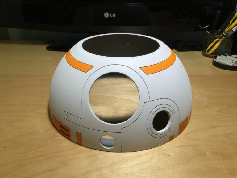 BB-8  Dome Assembly Painted