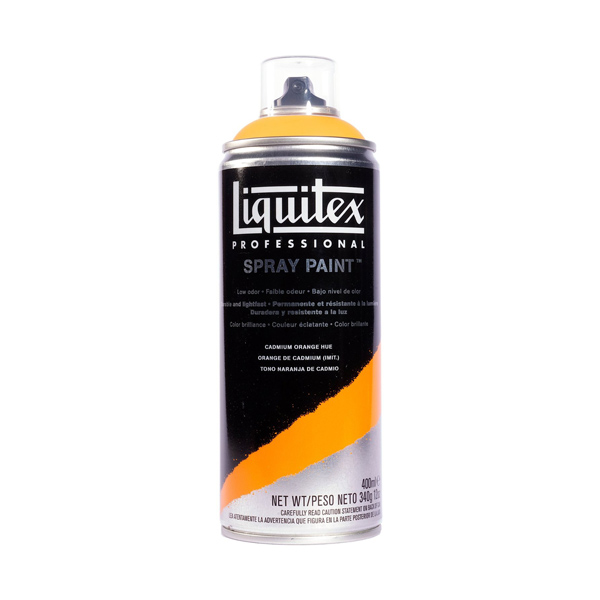 Liquitex Acrylic Spray Paint Cadmium Orange Hue