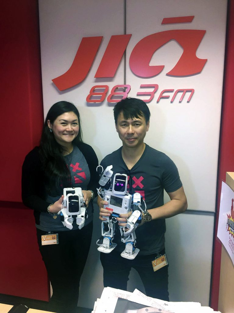 Interview with 88.3 Jia FM